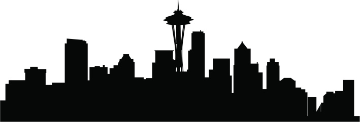 Free Seattle Silhouette, Download Free Clip Art, Free Clip.