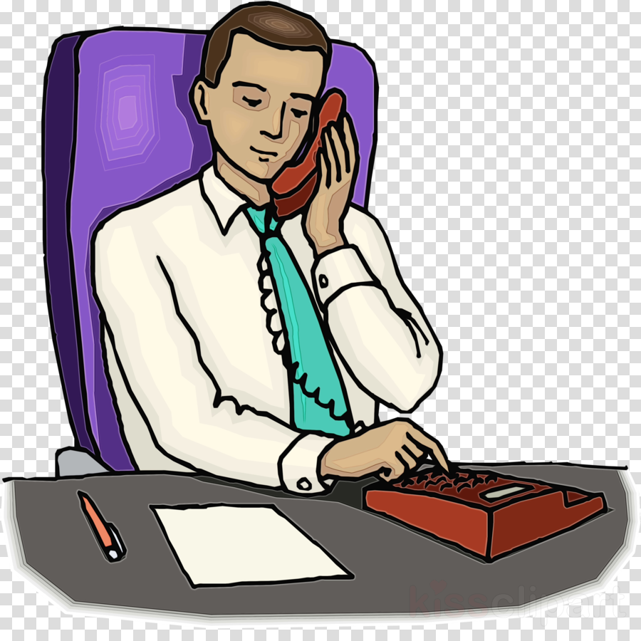 cartoon clip art employment job secretary clipart.