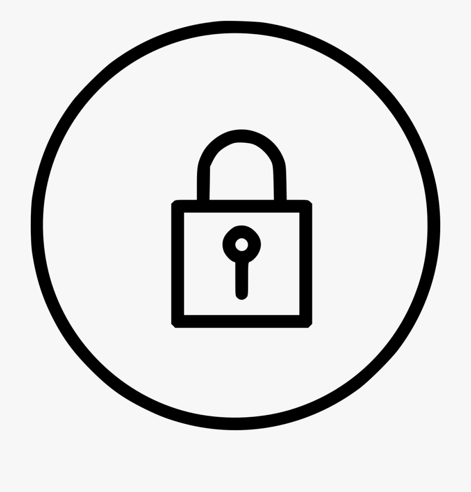 Lock Privacy Security Secure Svg Png Icon Ⓒ.