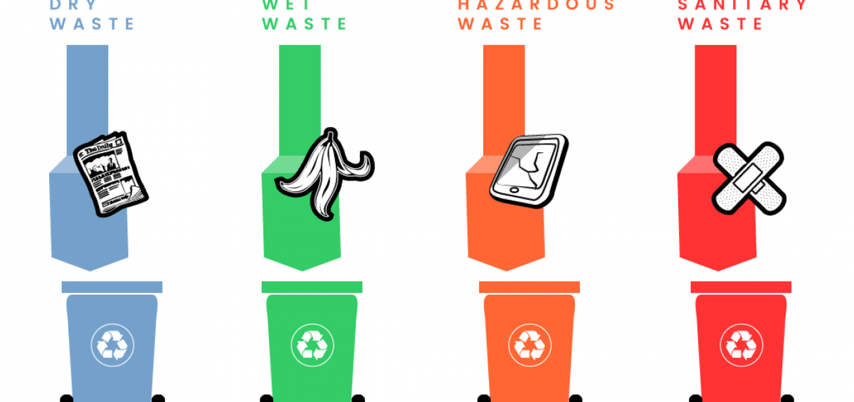 Dry Garbage Clipart.