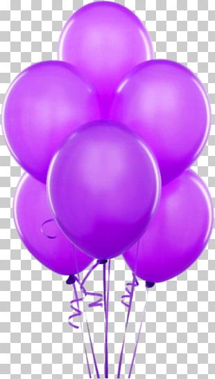 Balloon Birthday cake , Colorful Bunch of Balloons , six.