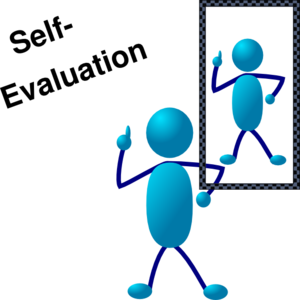 Blue Stick Man Self Evaluation Clip Art at Clker.com.