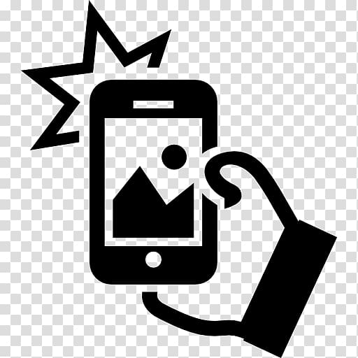 Phone and lock , iPhone Selfie Computer Icons Camera phone.