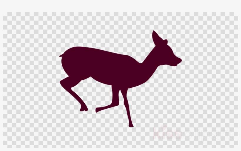 Deer Running Sequence 1 Clipart Reindeer Clip Art.