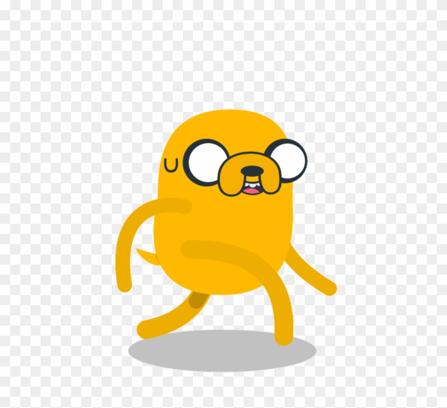 A Walking Sequence With Jake The Dog Clipart (#2580969.