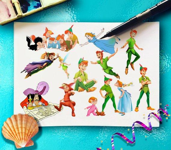 Peter Pan ClipArt.