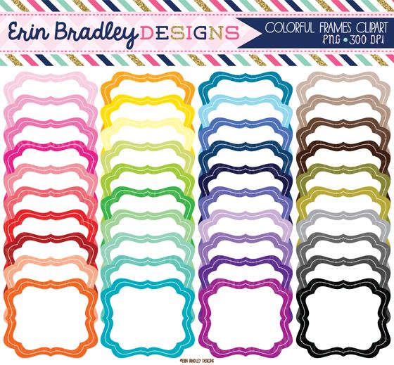 Erin Bradley Designs: New Bundle Clipart & Digital Paper Sets.