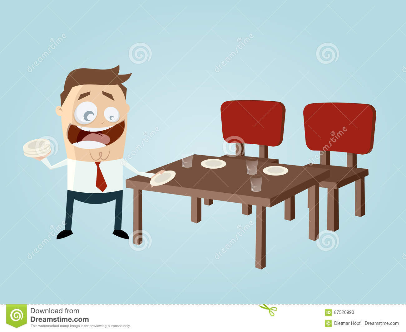 Setting the table clipart 2 » Clipart Station.