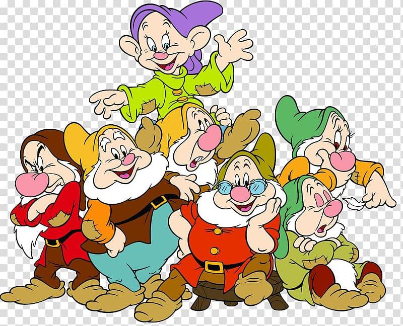 Seven Dwarfs Grumpy Bashful Sneezy Dopey, seven dwarfs.