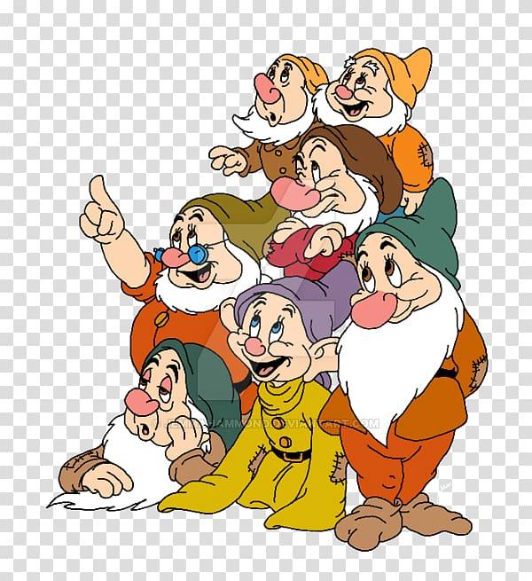 Snow White Seven Dwarfs Dopey Bashful, Dwarf transparent.