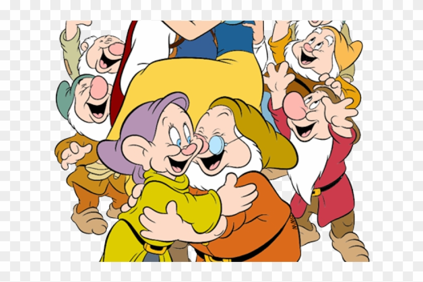 Snow White And The Seven Dwarfs Clipart Original.