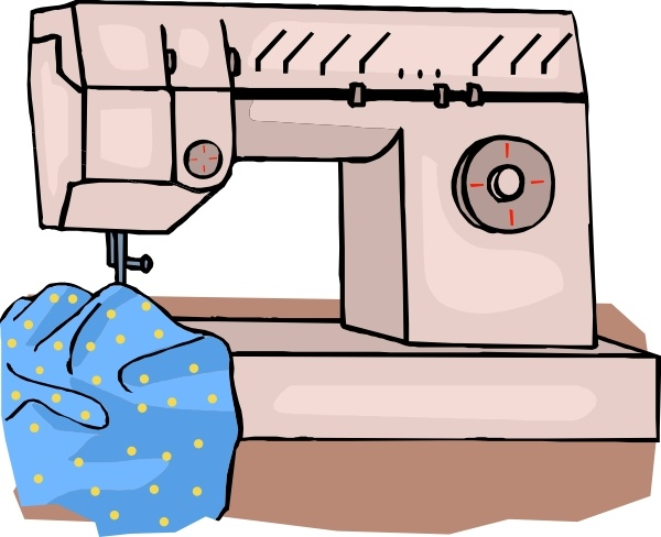 Sewing Machine clip art Free vector in Open office drawing.