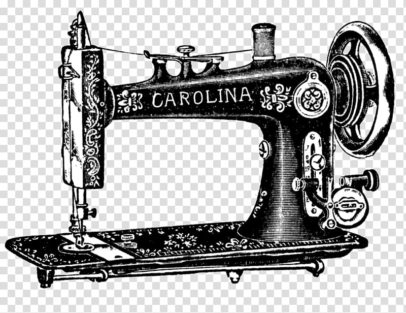 Black Carolina sewing machine, Sewing Machines Treadle.