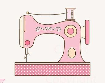 Download Free png Clipart, Sewing Machine, Sewing, Vintage, Sew.