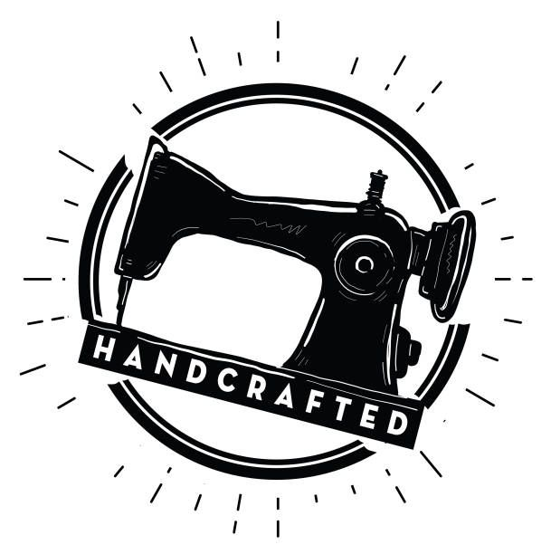 Royalty Free Antique Sewing Machine Clip Art, Vector Images.