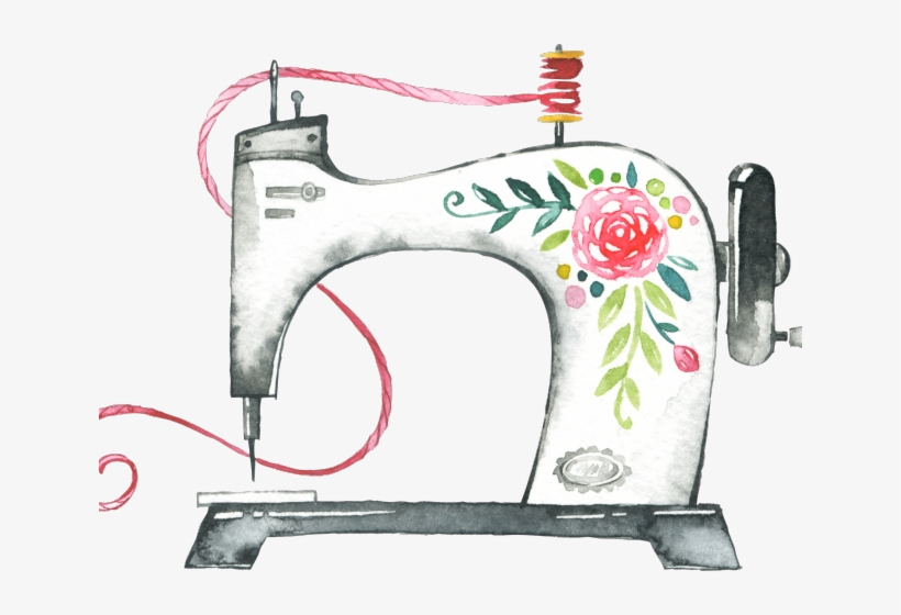 Sewing Machine Clipart Sewing Tool.