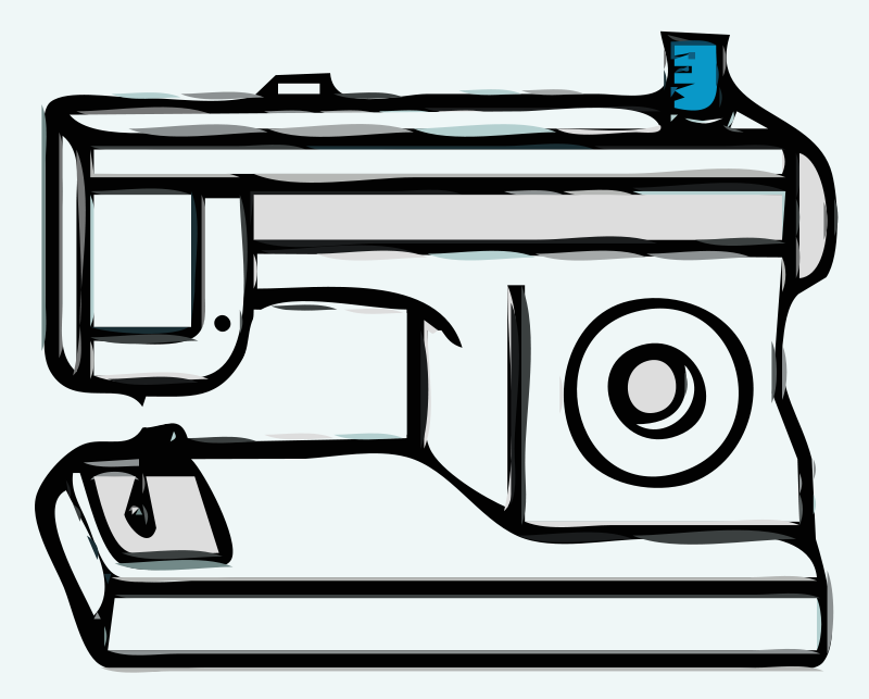 Free Clipart: Sewing Machine.