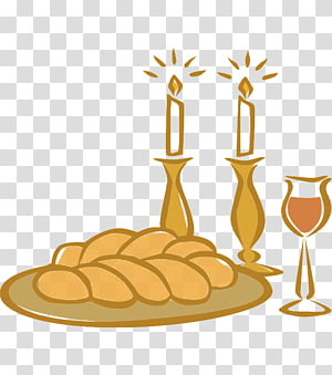Shabbat PNG clipart images free download.