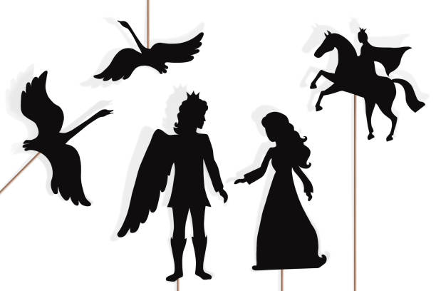 Best Shadow Puppets Illustrations, Royalty.