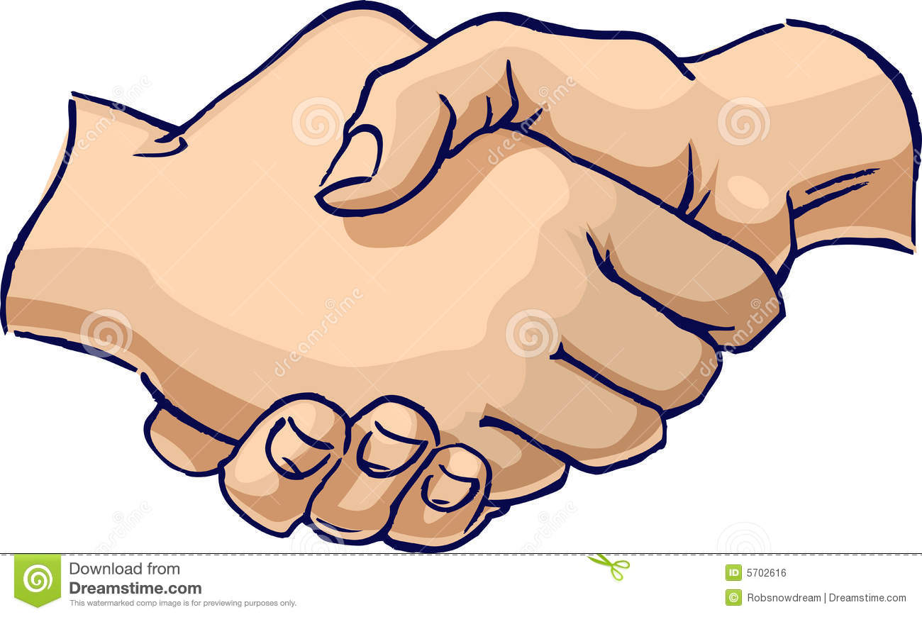 People Shaking Hands Clipart.