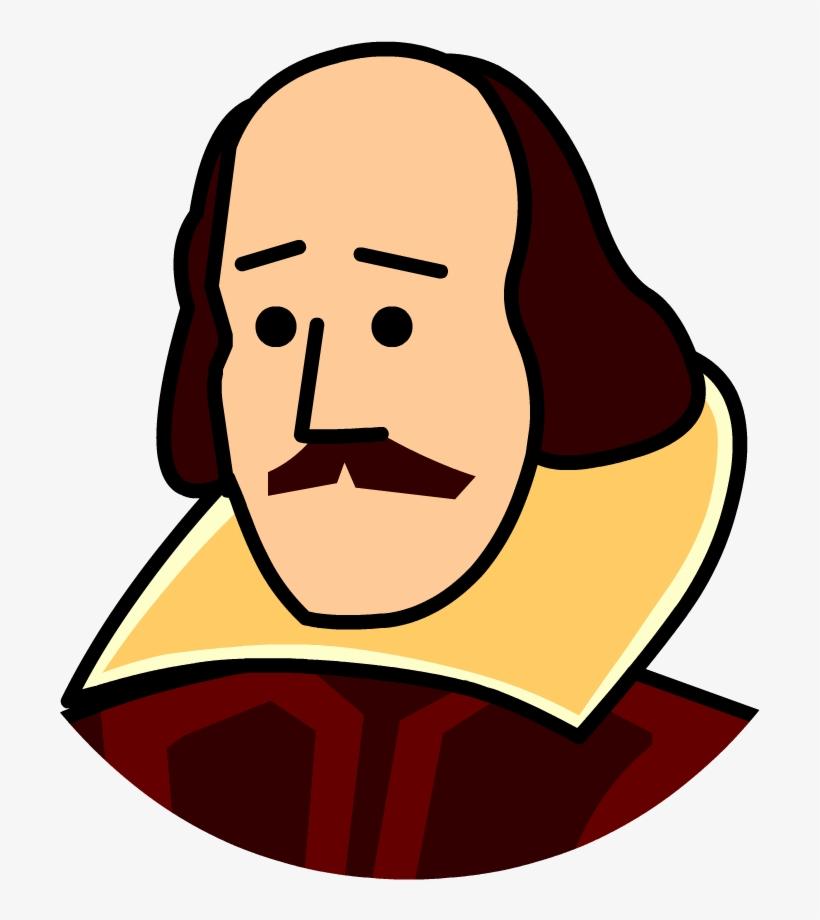 Shakespeare Clipart Head Jpg Library Stock.