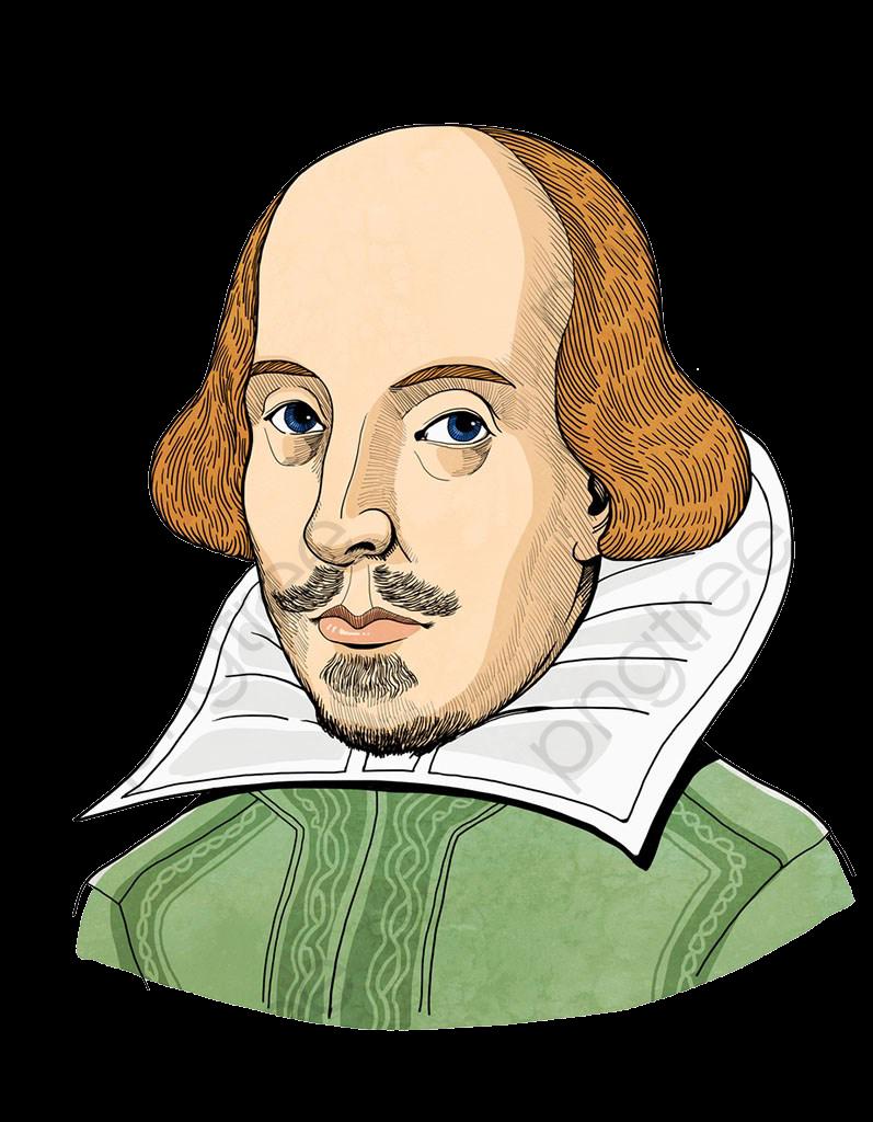 Shakespeare Illustration, Avatar, Illustration, Shakespeare PNG.