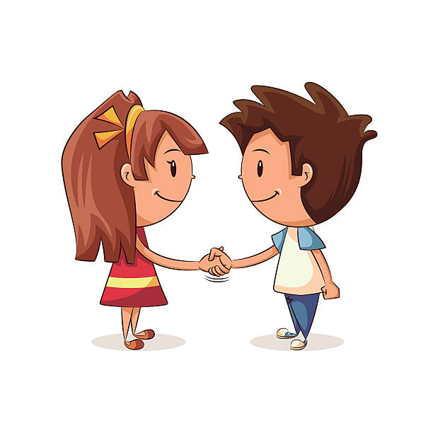 Kids shake hands clipart 4 » Clipart Station.