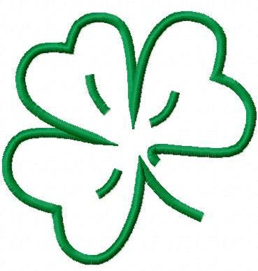 Free Outline Of A Shamrock, Download Free Clip Art, Free.