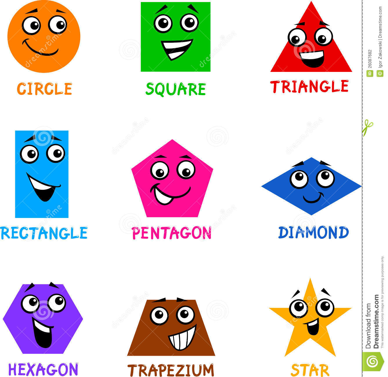 Clipart shapes free download 5 » Clipart Station.
