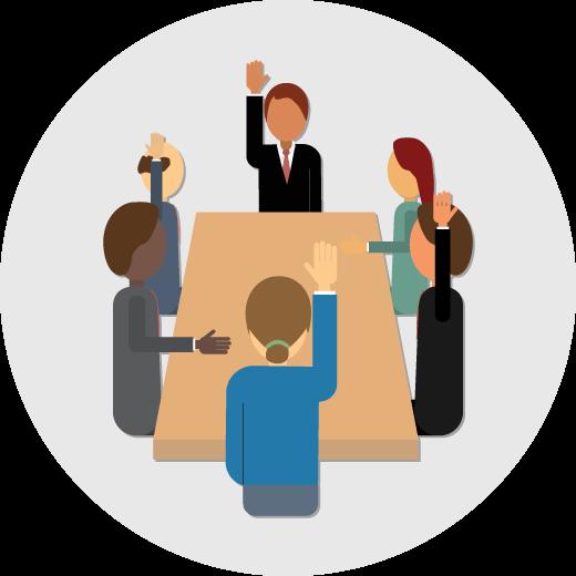 Shareholders Meeting Clipart.