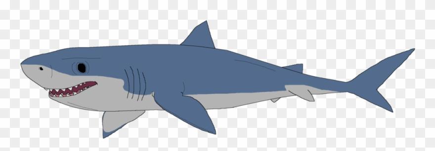 Great White Shark Clipart Mako Shark.