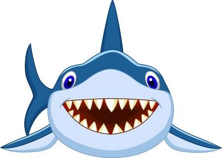 7,690 Cartoon Shark Cliparts, Stock Vector And Royalty Free Cartoon.