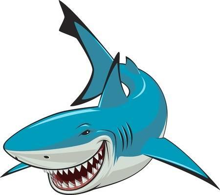 7,484 Undersea Shark Stock Vector Illustration And Royalty Free.
