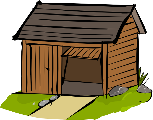 Shed clipart 1 » Clipart Station.