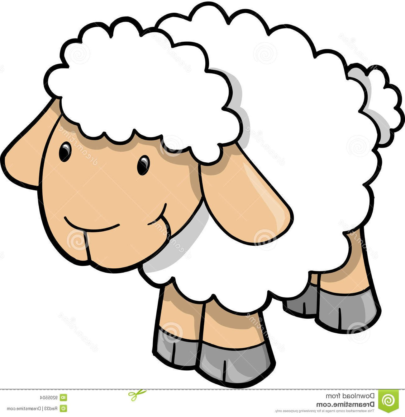 Clipart Sheep Pictures.