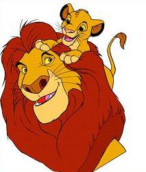 clipart + lion king.