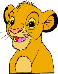 King Lion and Simba PNG Picture.