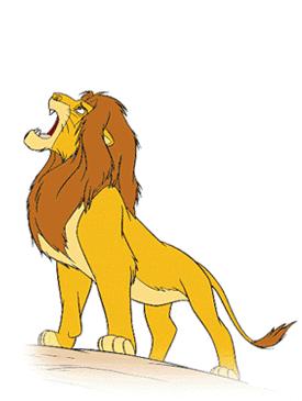 Disney The Lion King Clip Art Images.
