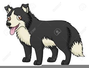 Cartoon Sheepdog Clipart.