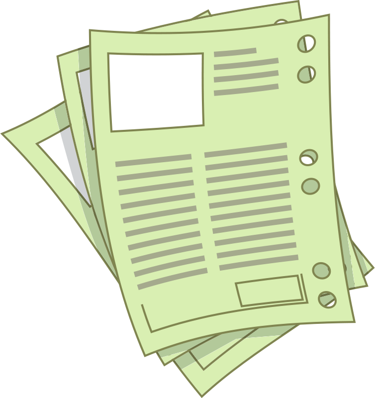 Free Clipart: Sheets.