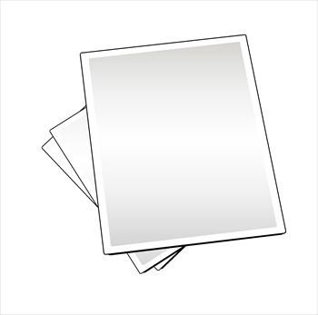 Sheet Paper Clipart.
