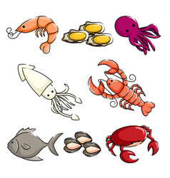 Shellfish Clipart Vector Images (over 160).