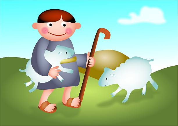Shepherd Boy Clip Art, Vector Images & Illustrations.