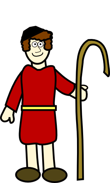 Shepherd Boy Clipart.