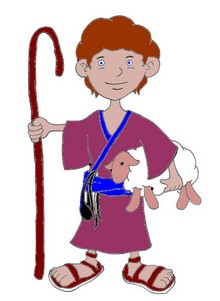 clipart shepherd boy clipground
