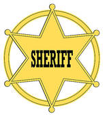 Sheriff badge Clipart and Stock Illustrations. 458 sheriff badge.