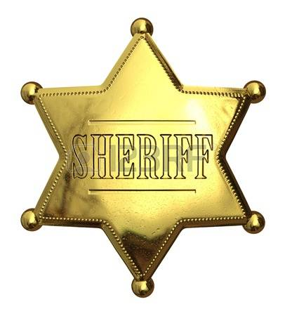 4,581 Sheriff Badge Cliparts, Stock Vector And Royalty Free.