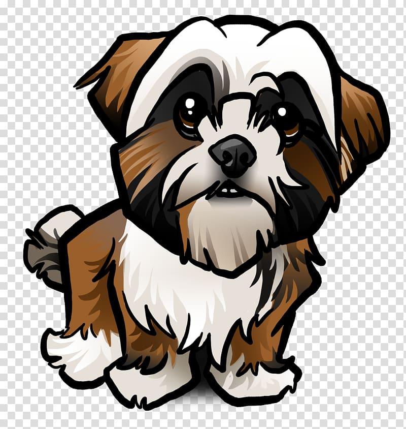 Shih Tzu French Bulldog Lhasa Apso Puppy, puppy transparent.