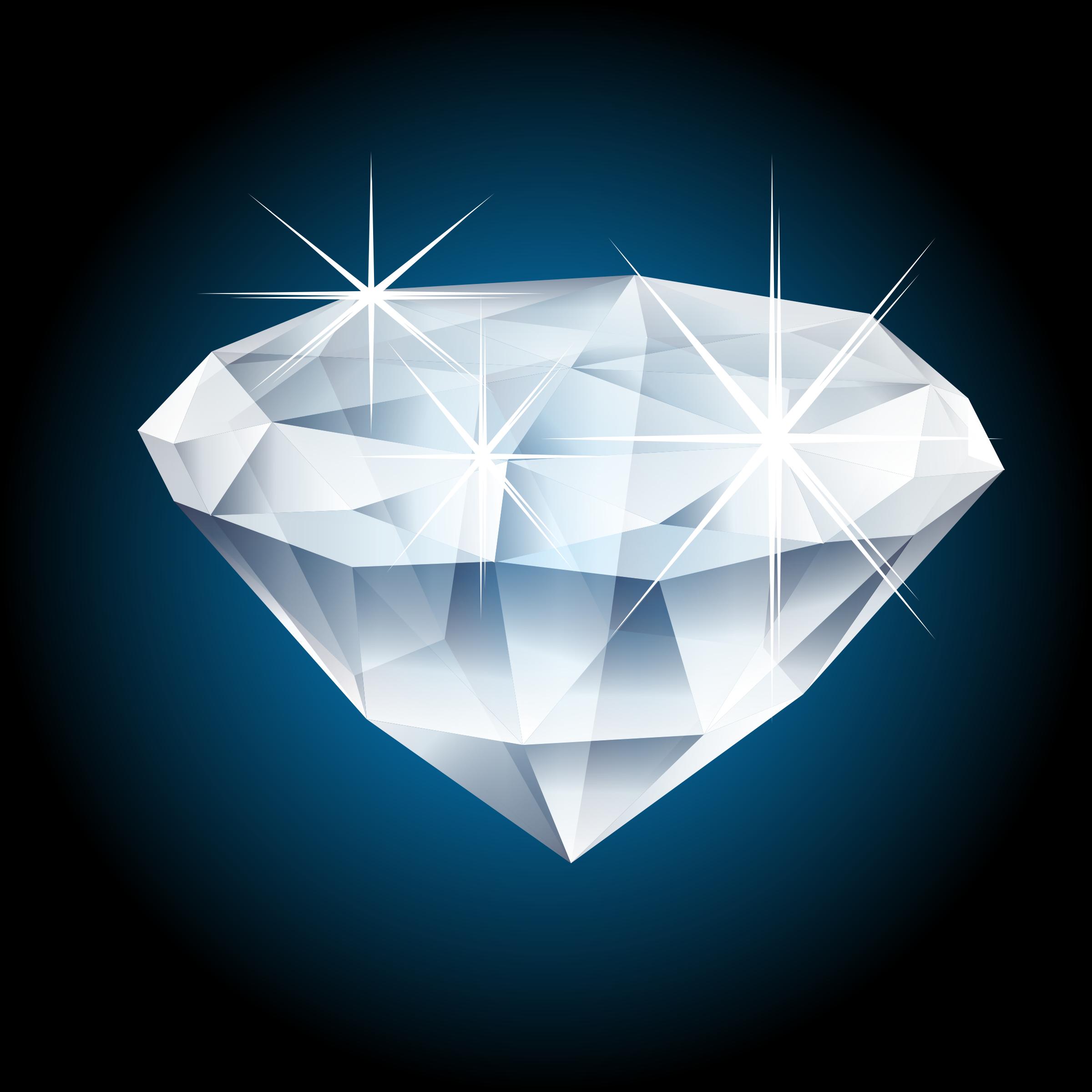 Shiny Diamond Clipart.