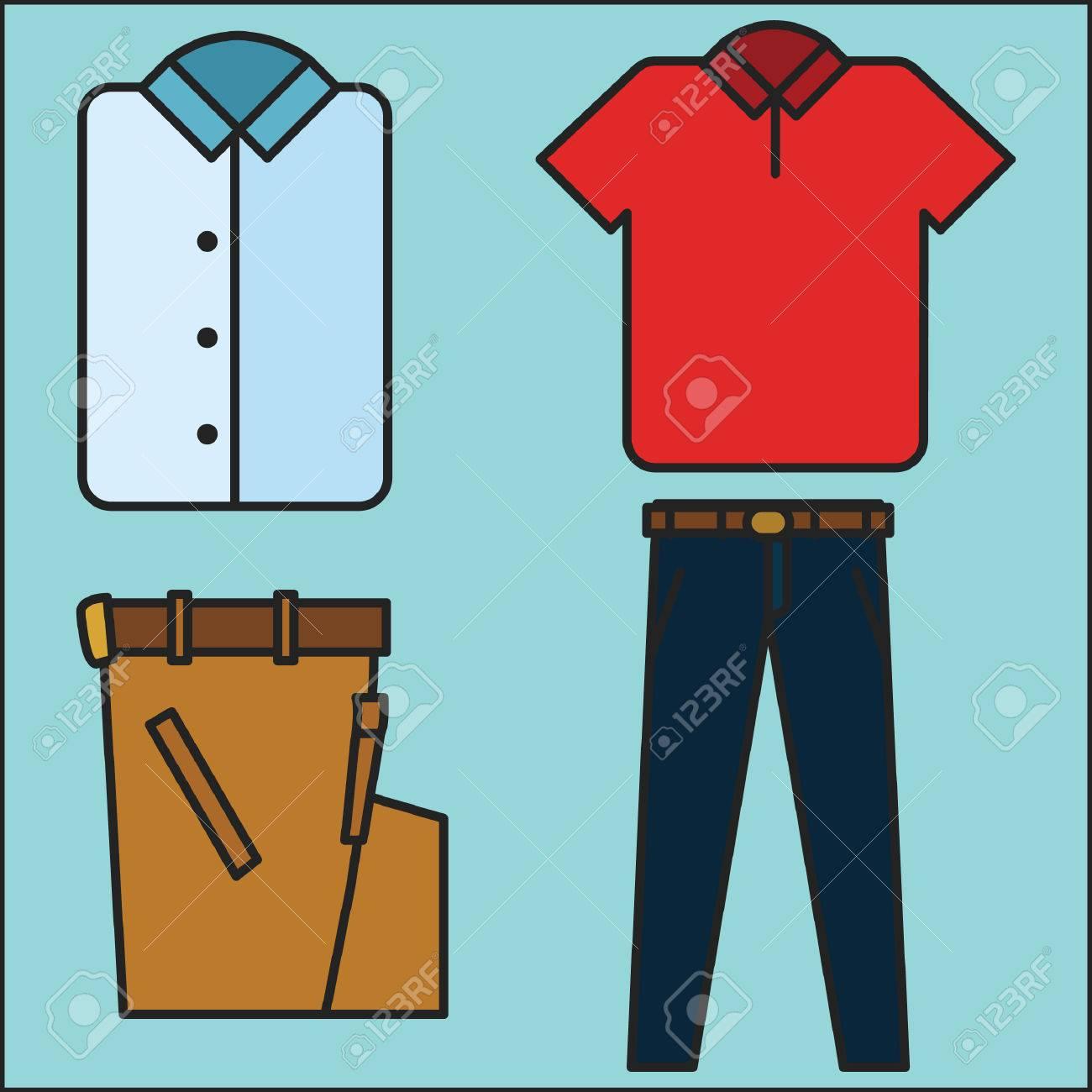 shirt and pants.